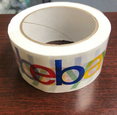 "2"" x 75 yards Classic - Official eBay Branded Packaging Tape (1 Roll!) NEW"