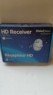 Shaw Direct HDDSR 800 HD High Definition Satellite Receiver -NEW