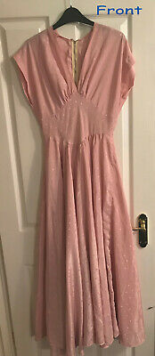 Dusky Pink stage costume 50's musical shows West Side Story dance size10/12