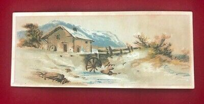 Victorian Trade Card for Swalley & Warfel's Soaps Erie, PA