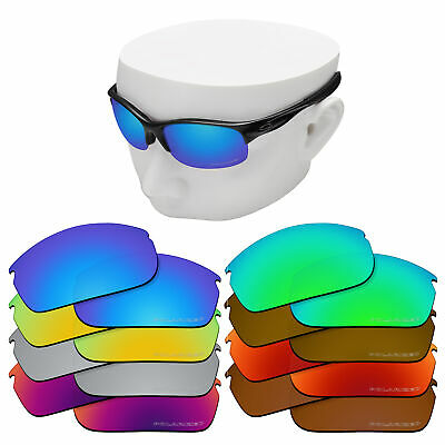 OOWLIT Replacement Etched Polarized Lenses for-Oakley Commit SQ OO9086 Sunglass