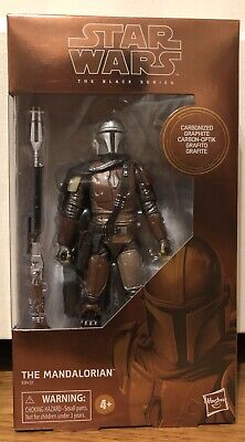 Star Wars Carbonized Mandalorian Target Exclusive NEW Black Series