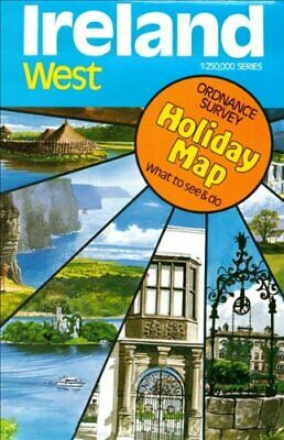 Ireland (West) Holiday Map: West No. 2 by Ordnance Survey 0904996123
