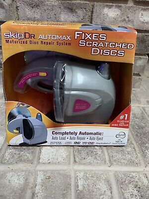 Skip Dr Motorized AutoMax Disc CD DVD Repair NEW 2005 Digital Innovations