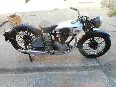 Norton Model 18 500cc OHV 1934 Brilliant restoration piece