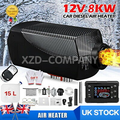 12V 5000W LCD Air Diesel Heater 5KW Planar for Boats Car Campervans Trucks UK
