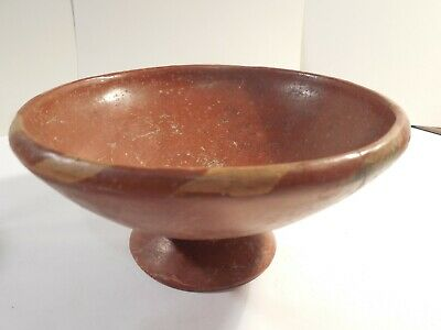 Nayarit Pedestal Bowl Shaft Tomb Pre-Columbian Ancient Artifact Mayan Olmec
