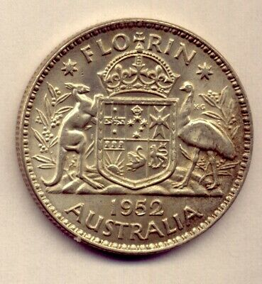 1952 Florin: A Beautiful  Silver   Coin :  Great Condition  No  Reserve