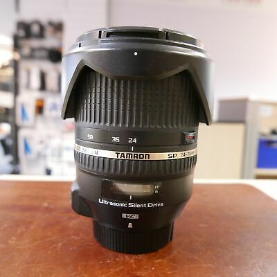 Used Tamron SP 24-70mm f2.8 Di VC USD lens in Nikon fit - 1 YEAR GTEE