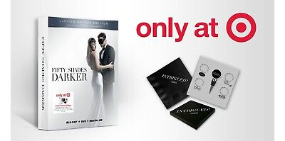 Fifty Shades Darker(Bluray+DVD+Digital HD) Target Exclusive Deluxe Edition