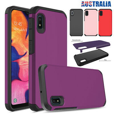 Fr Samsung Galaxy A20 A30 A50 A10e Case Shockproof Hybrid Armor Heavy Duty Cover