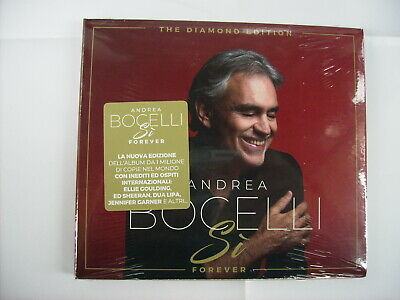 Andrea Bocelli - Si' Forever - Cd Sigillato Digipack Diamond Edition 2019