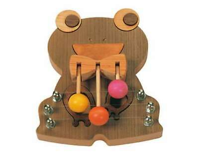 Sasaki Craft Door Melody Small Frog DMM-FR-S Wooden handmade chime from Japan