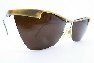 Vintage Gianfranco Ferre sunglasses burnished metal Mod GFF 56/S made in Italy