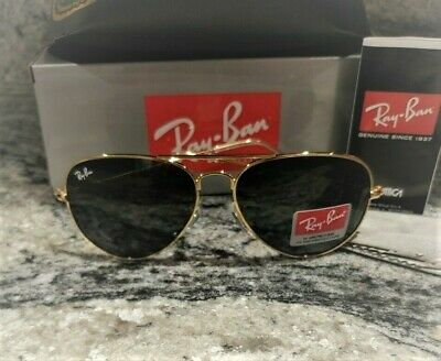 New 2019 Ray Ban Aviator RB3025 Sunglasses Gold Frame BACKORDERED TILL 12-10!!!