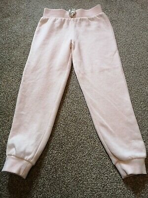Girls Pale Pink Age 5-6 Jogging Bottoms