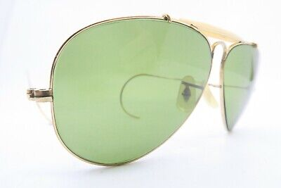 Vintage B&L Ray Ban sunglasses gold filled aviator 1-30 10K GO lens made in USA