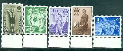 1935 OETR,Boy Scouts,Pfadfinder,Badge,Map,Camp,Scoutisme,Romania,484,CV$140+,MNH