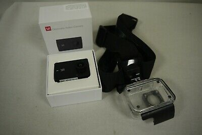 Yi Discovery Action Camera And Case , Black, Used, In Box, (Tr)