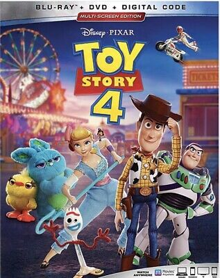 Toy Story 4 Blu-Ray+DVD+Digital-Pre-Order Yours Now!Ships On 10/08/19!Brand NEW!