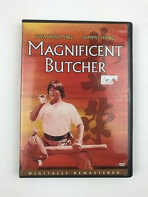 Magnificent Butcher DVD With Insert Free Shipping