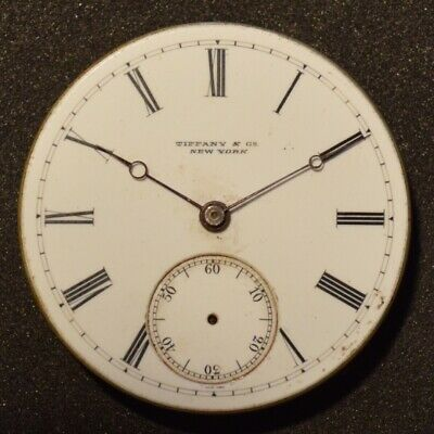 Tiffany & Co High Grade Pocket Watch Movement By Patek Phillipe For Repair