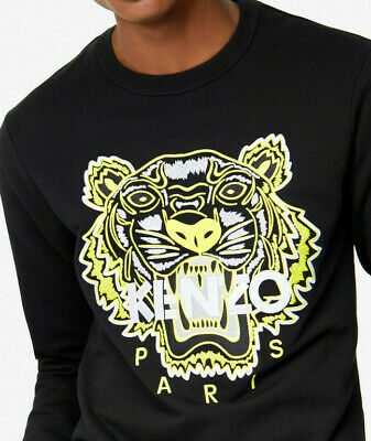 Sweat Kenzo Yellow/Black Collection Hiver 2019
