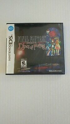 Final fantasy Crystal chronicles ring of fates Nintendo DS VG condition CIB!