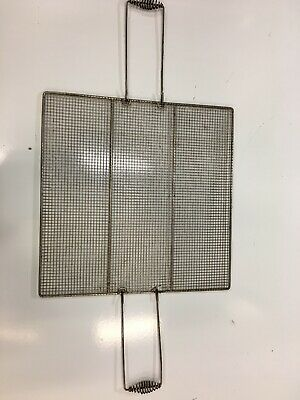 "Belshaw Donut Screen With Handles Submerge Submerger 23"" x 23"" used Save $$"