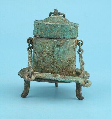 Rare Old China Bronze Pot Antique Home Decoration Collection Gift