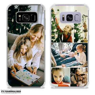Personalised Name Initials Shockproof Phone Case Cover For Samsung Galaxy