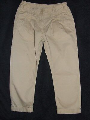 Girls Next beige trousers age 8 years, fantastic condition