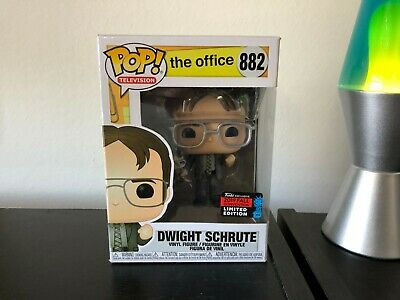 Funko Pop! Dwight Schrute The Office Nycc 2019  Fast Free Shipping