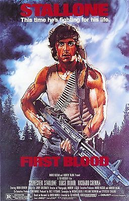 Rambo V Last Blood Movie Art Silk Canvas Poster Print 24x36 inch