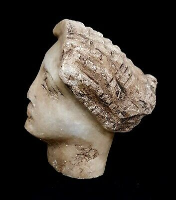 Roman Ptolemaic Egypt Ancient Julius Grecian Statue Period Ca 305 BC Antiquities