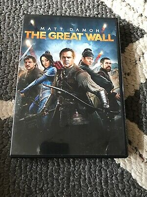 The Great Wall (DVD, 2017)