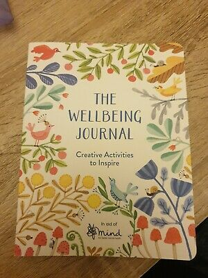 The Wellbeing Journal: Creative Activities to Inspire by MIND (paperback)