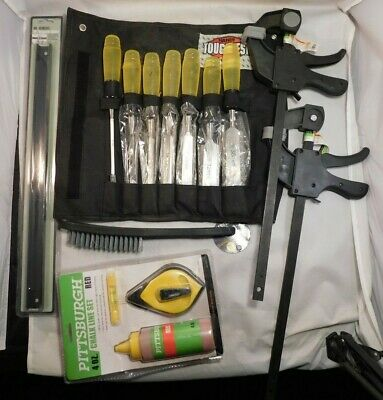 Lot of Tools Handyman Club of America 7 pc. Wood Chisel set plus extras