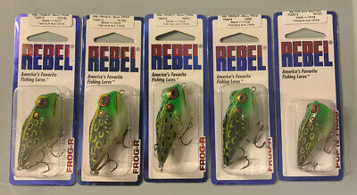 Rebel MicroCritter  RainbowTrout *LOT OF 3*