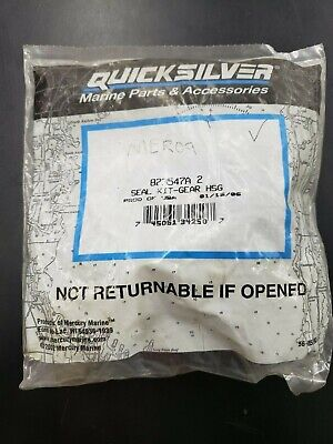 Quicksilver Mercury 823547A, Seal Kit - Gear Housing