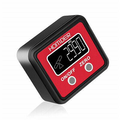 Digital LCD Protractor Gauge Angle Finder Bevel Level Box Inclinometer Meter New