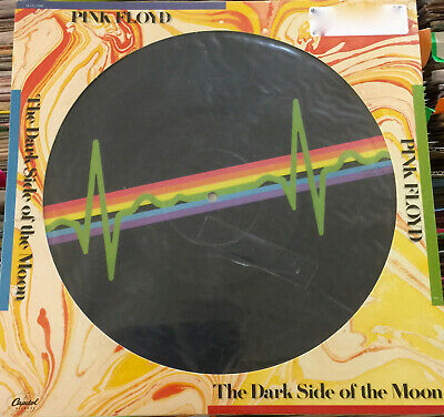 """PINK FLOYD (Sealed) - """"DARK SIDE OF THE MOON"""" Picture Disc - Capitol (1978)"""