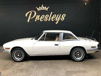 1974 Triumph Stag Convertible V8 , 5 sp Manual Low Kms# mg mgb jag rover gt6 tr4