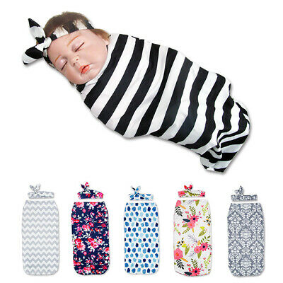 Baby Newborn Cocoon Swaddle Me Wrap Sleep Sleeping Sack Bag Blanket Photo Props