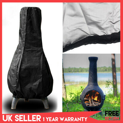 Garden Heavy Duty Large Outdoor Chimnea Chiminea Waterproof Rain Protector Cover