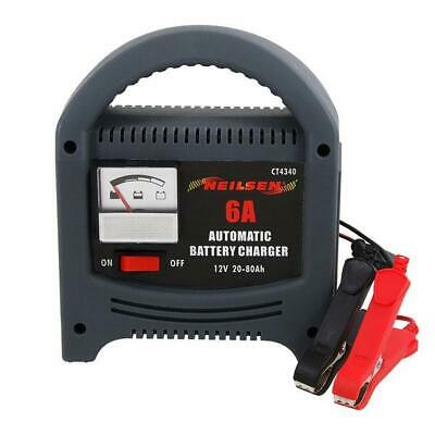 Automatic Battery Charger - 6A / 12V  Overcharging & Short Protection