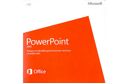 MICROSOFT OFFICE HOME AND BUSINESS 2013 SUITESEALED2 PCDVD