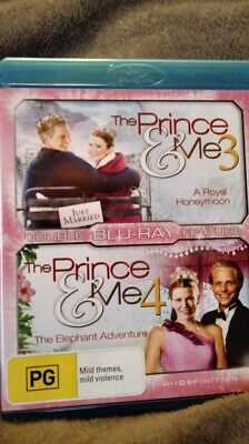 The Prince And Me 3 And 4 Blu Ray  Region B New And Unsealed Very Rare