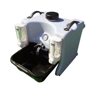 Hand Wash Station Fully Portable with Basin & Soap Top Unit Tasty Trotter