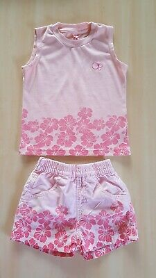 Ocean Pacific Girls matching shorts and top set age 3-4 years